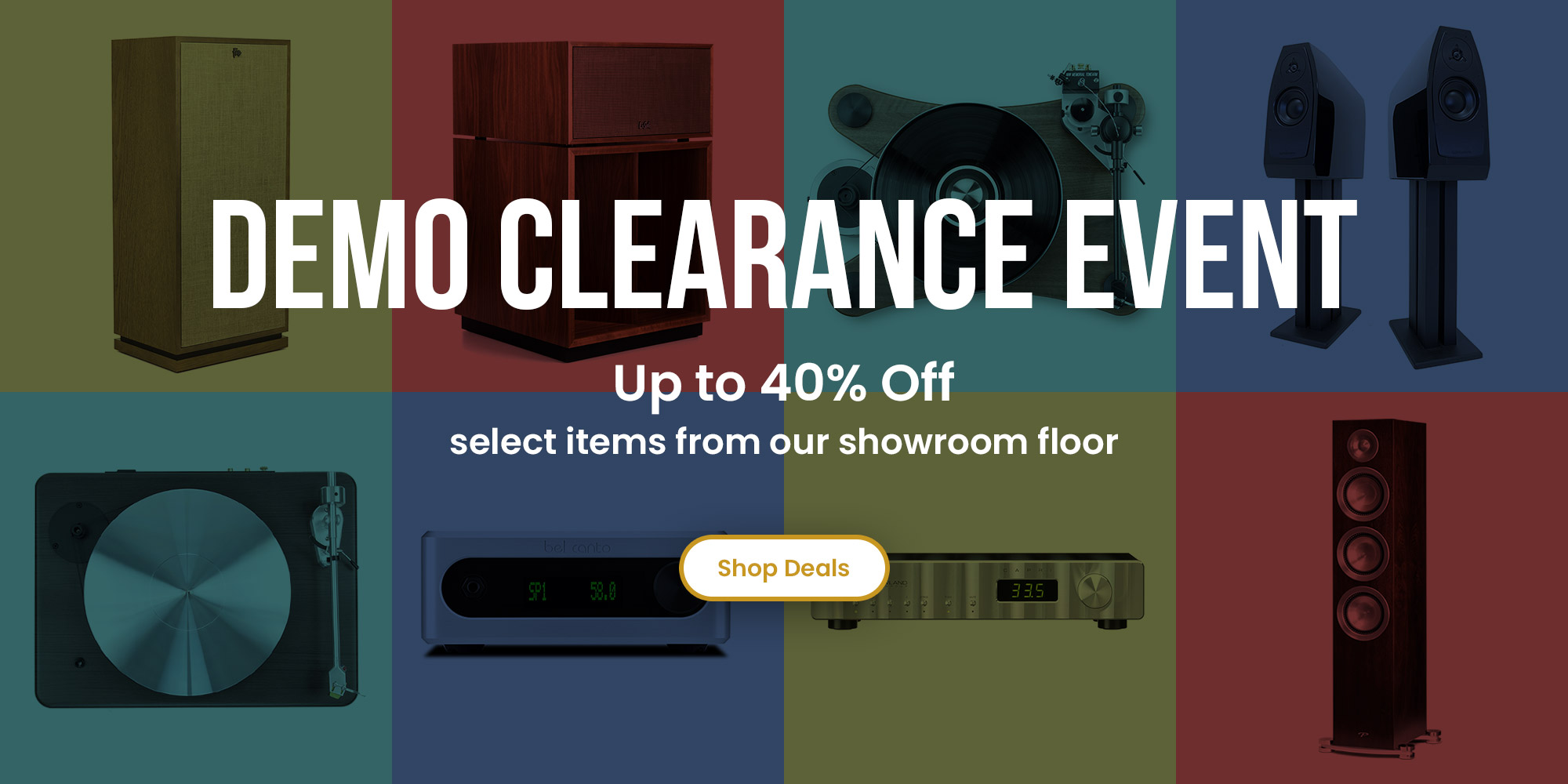 Demo Clearance Sale